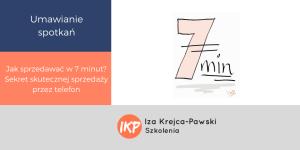 Jak sprzedawać w 7 minut
