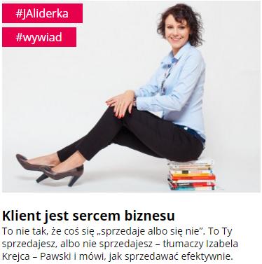 Iza Krejca-Pawski Sukces Pisany Szminką