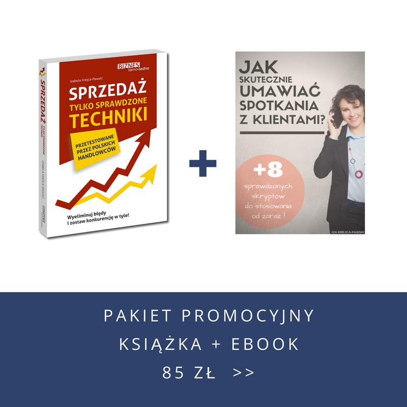 Pakiet promocyjny. Książka i ebook.