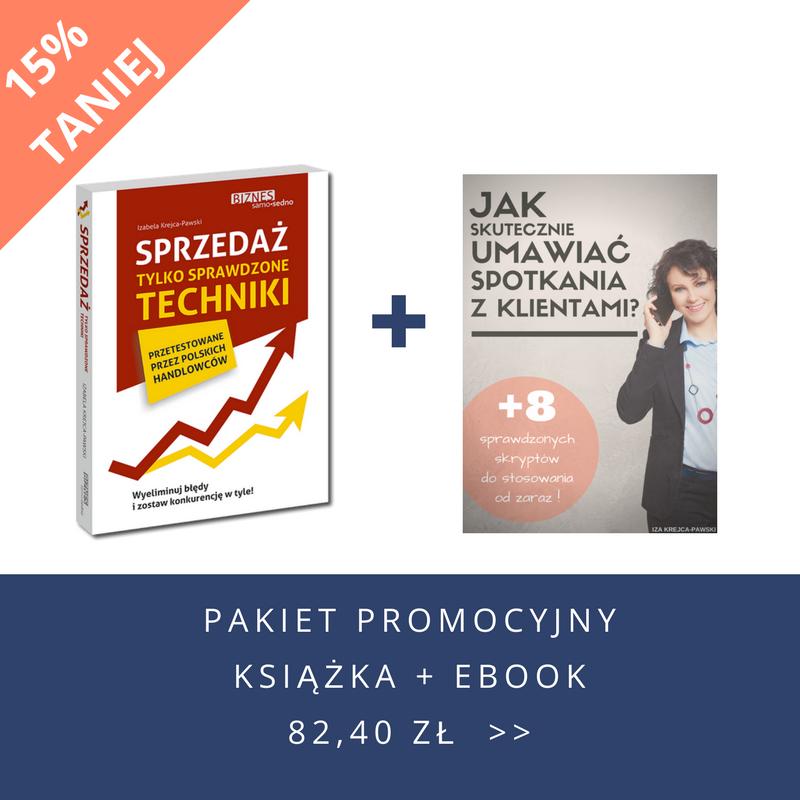 Pakiet promocyjny książka + ebook Iza Krejca-Pawski