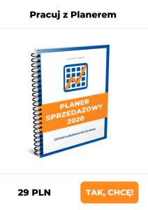 Planer Sprzedażowy 2020 w PDF do druku