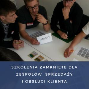 Szkolenia zamknięte dla zespołów sprzedaży i obsługi klienta Iza Krejca-Pawski