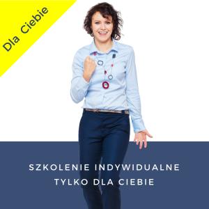 Szkolenie indywidualne tylko dla Ciebie Iza Krejca-Pawski