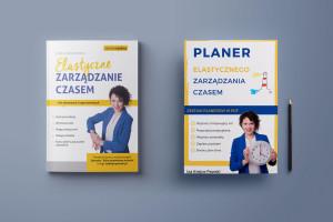 Pakiet Książka Elastyczne Zarządzanie Czasem i Planer Elastycznego Zarządzania Czasem Iza Krejca-Pawski
