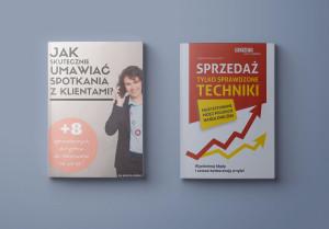 Pakiet PROMOCYJNY Ebook Jak skutecznie umawiać spotkania z klientami + Książka Sprzedaż. Tylko sprawdzone techniki