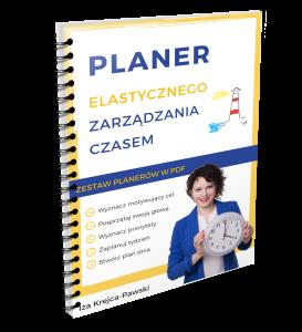 Planer Elastycznego Zarządzania Czasem w PDF do druku Iza Krejca Pawski
