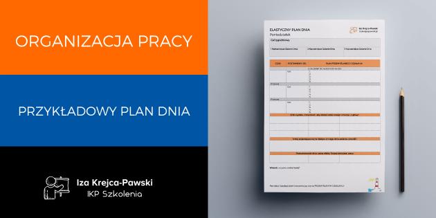 Planowanie i organizacja dnia pracy – przykładowy plan efektywnego dnia