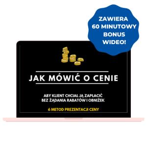 Bonus do ebooka Skuteczna Sprzedaż 6 metod prezentacji i obrony ceny Iza Krejca-Pawski