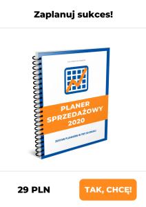 Planer Sprzedażowy 2020 Iza Krejca-Pawski
