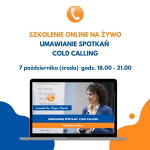 Umawianie Spotkań Cold Calling Szkolenie online