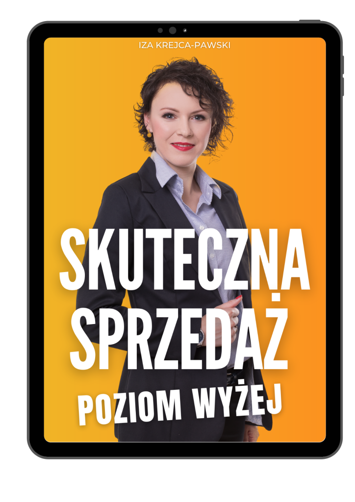 Ebook Skuteczna Sprzedaż Poziom Wyżej Iza Krejca-Pawski