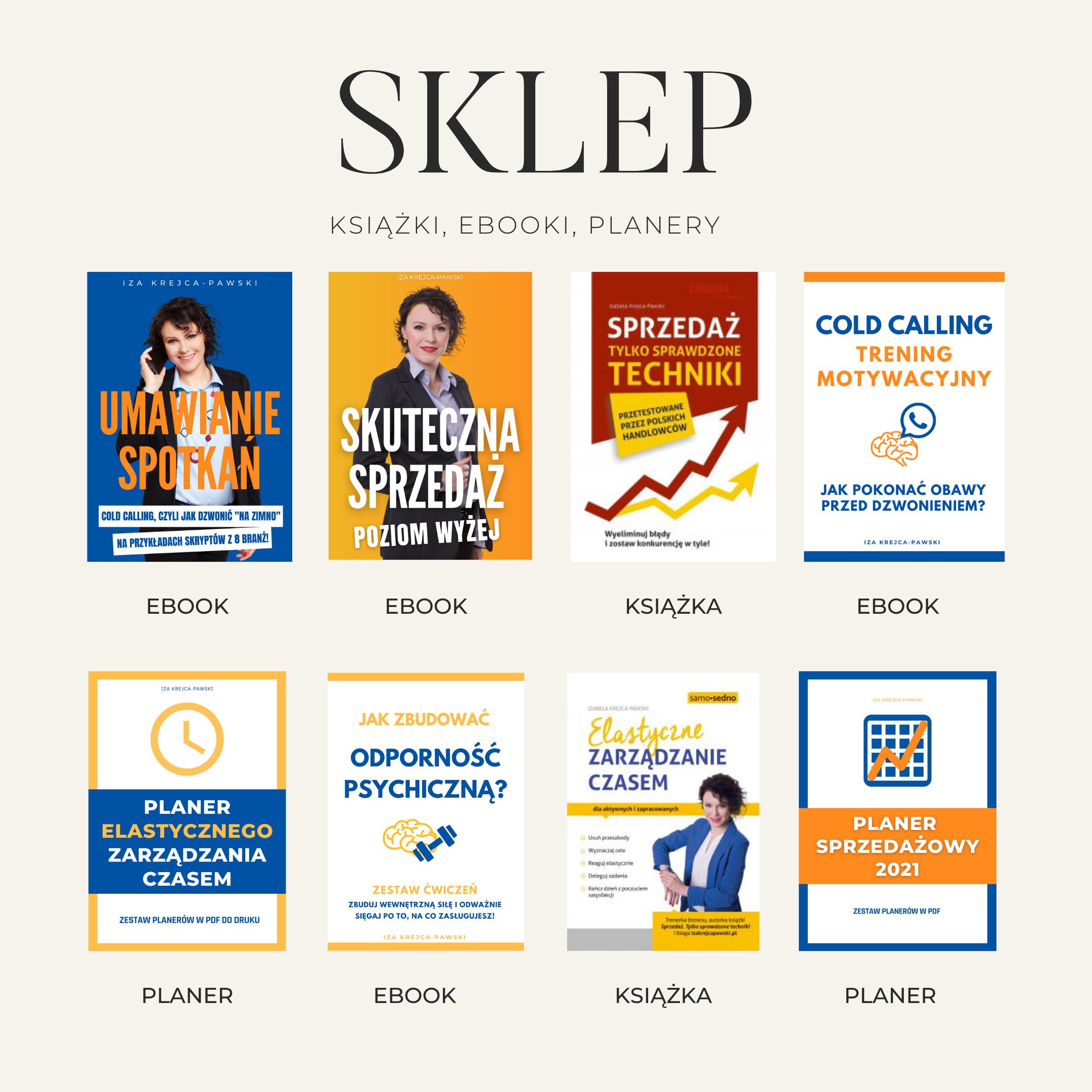 Sklep IKP ze skryptami eboookami książkami i szkoleniami