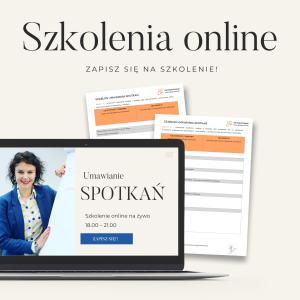 Szkolenia online Sprzedaż Umawianie Spotkań Zarządzanie czasem