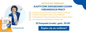 Webinar Elastyczne Zarządzanie Czasem