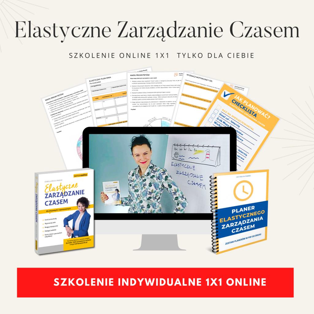 Szkolenia  z Izą Krejca-Pawski