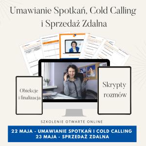 Szkolenie online Umawianie Spotkań i Skuteczna Sprzedaż Zdalna Codl calling