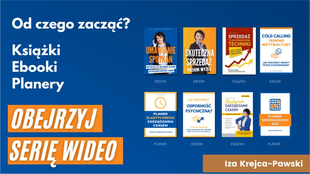 Książki, ebooki i planery autorstwa Izy Krejca-Pawski