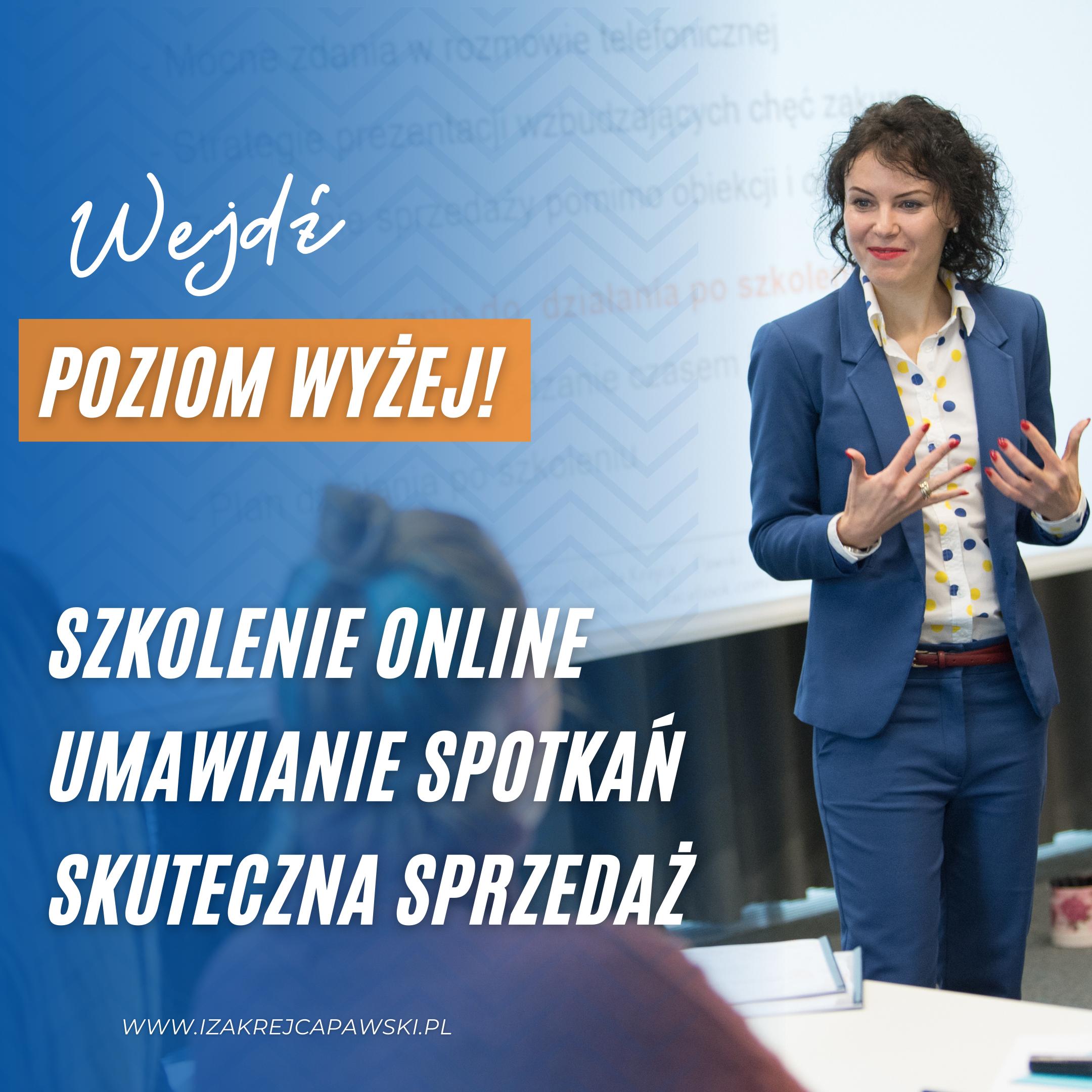 Szkolenia sprzedażowe z Izą Krejca-Pawski