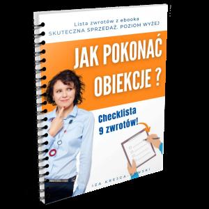 Prezent_Jak pokonać obiekcje_z ebooka Skuteczna Sprzedaż_Iza Krejca-Pawski
