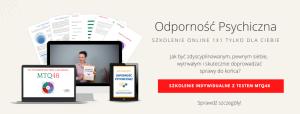 Szkolenie online Odporność Psychiczna MTQ48